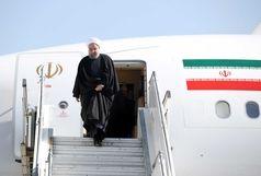 رئیس جمهوری وارد استان یزد شد