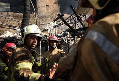 آتش سوزی در حرم حضرت عبدالعظیم (ع)