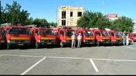 خودروهای جدید آتش نشانی کرج رونمایی شدند
