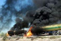 انفجار تانکر سوخت در سوریه