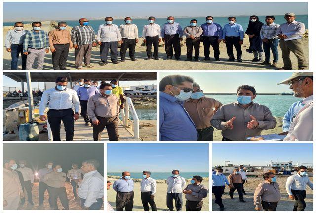توسعه فعالیت های گردشگری شیلاتی در بندر صیادی خور آذینی