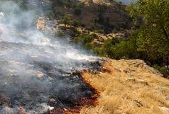 مهار آتش سوزی منطقه کَپُک