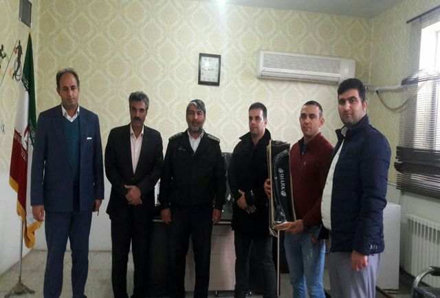 توزیع تجهیزات تیراندازی با کمان بین 6  شهرستان استان