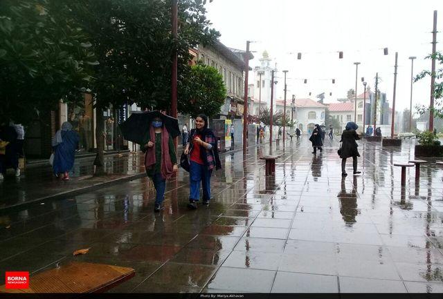 ورود سامانه بارشی در گیلان