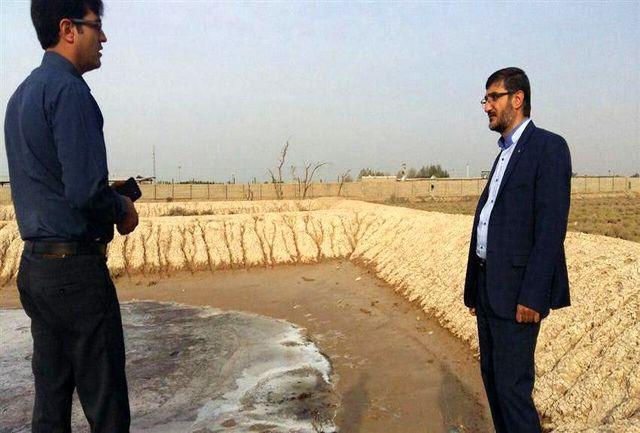پلمپ واحدهای خدماتی آلوده کننده محیط زیست محیطی به دستور دادستان ماهشهر