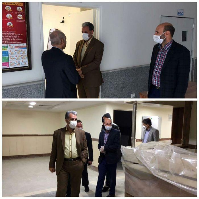 بازدید از بیمارستان بومهن و مرکز جامع سلامت فاز ۱۱ شهر پردیس