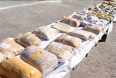 ۸۴ کیلوگرم مواد مخدر در میرجاوه کشف شد