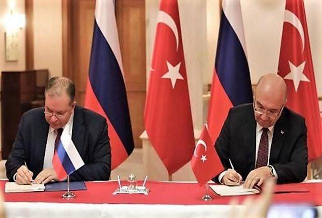روسیه و ترکیه توافق نامه حمل و نقل جاده ای امضا کردند