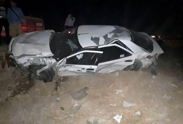 تصادف وحشتناک در جاده سوق /3 فوتی و 3 مصدوم در تصادف مرگبار پراید و زانتیا