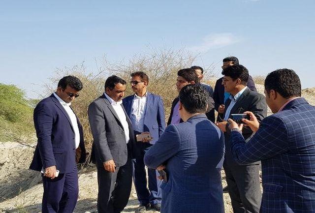 بازدید وبرنامه ریزی پروژه های راهداری حوزه شهرستان سیریک