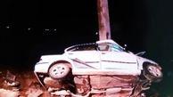 تصادف و برخورد دو پژو و چهار مصدوم