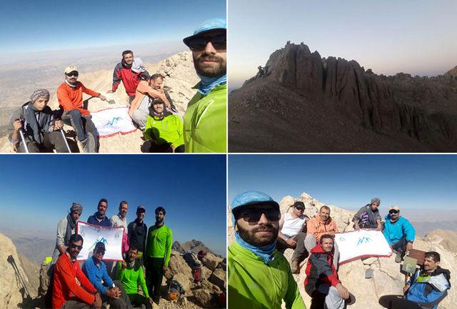 صعود به 8 قله خط الرأس غربی دنا توسط باشگاه کوهنوردی فردان نجف آباد