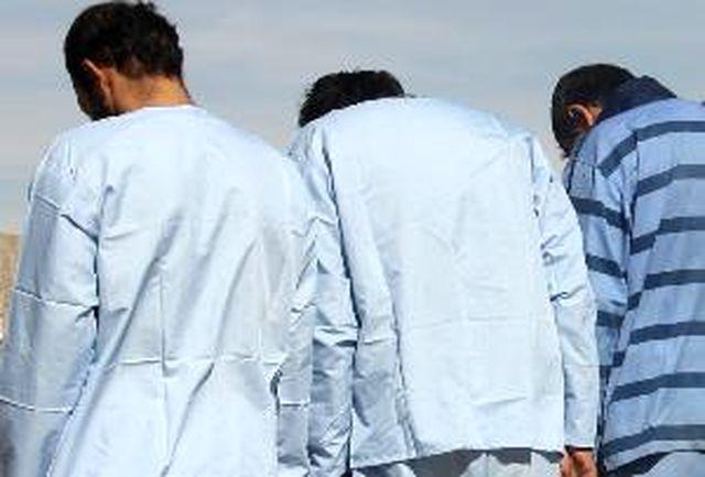 """عاملان زورگیری و قمه کشی در آزاد راه """"تهران - شمال"""" دستگیر شدند"""