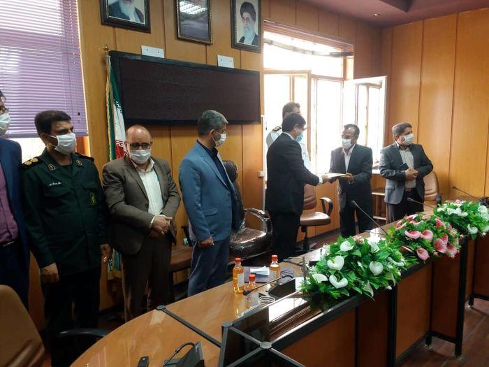 تقدیر و تشکر فرماندار چرداول از مدیرکل بنیاد مسکن استان
