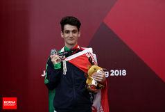 اولین مدال کاروان ایران/ بختیاری نقره گرفت