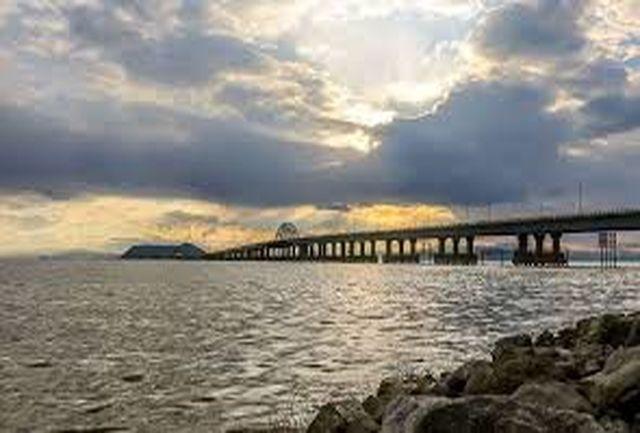 افزایش 2.93 میلیارد متر مکعب آب دریاچه ارومیه