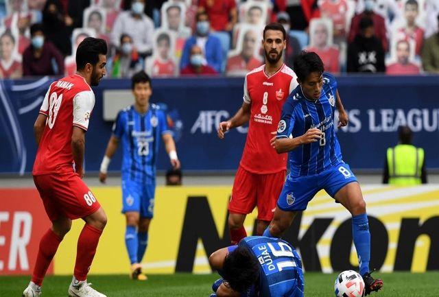 در بازی دیشب داور را فاجعه دیدم/ بازیکنان ما به قضاوت های داخل ایران عادت کرده بودند