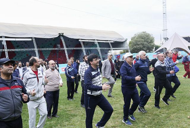 کمک به ورزش همگانی در بودجه سالانه شهرداریها گنجانده شد