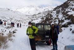 جستجو در دماوند برای نجات کوهنورد اصفهانی ادامه دارد
