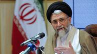 وزیر اطلاعات انتصاب رییس دانشگاه عالی دفاع ملی را تبریک گفت
