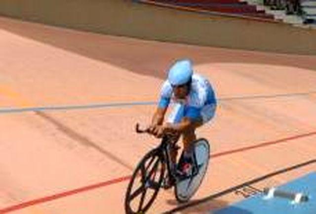 دوچرخهسوار پیشگامان کویر یزد در کشور سوم شد
