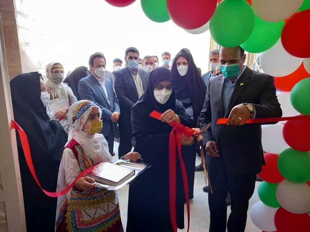 افتتاح مدرسه دخترانه ابتدایی با اعتبار بالغ بر ۳۰ میلیارد ریال در شیروان
