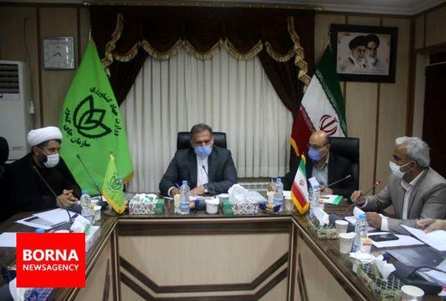 اولین نشست نمایندگان مجلس در سازمان چای لاهیجان