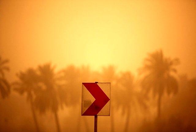 گرد و خاک شهرهای آبادان و خرمشهر به 6 برابر حد مجاز رسید