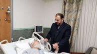 معاون پارلمانی رئیسجمهور از حجت الاسلام شهیدی عیادت کرد