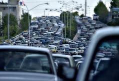 وضعیت ترافیکی معابر بزرگراهی و اصلی تهران در روز سهشنبه چهارم آبان ماه/ در تمام معابر پایتخت بارترافیکی صبحگاهی داریم