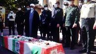 برگزاری مراسم تشییع شهید داراب امرانی مامور خدوم نیروی انتظامی استان کهگیلویه و بویراحمد