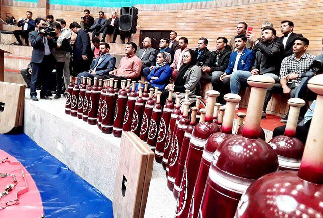 افتتاح زورخانه شهید لنگریزاده در کرمان توسط وزیر ورزش و جوانان