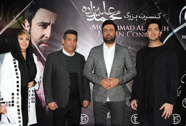 «لیلا بلوکات»، «فرزاد فرزین» و «حجت اشرفزاده» در کنسرت زمستانی «محمد علیزاده»