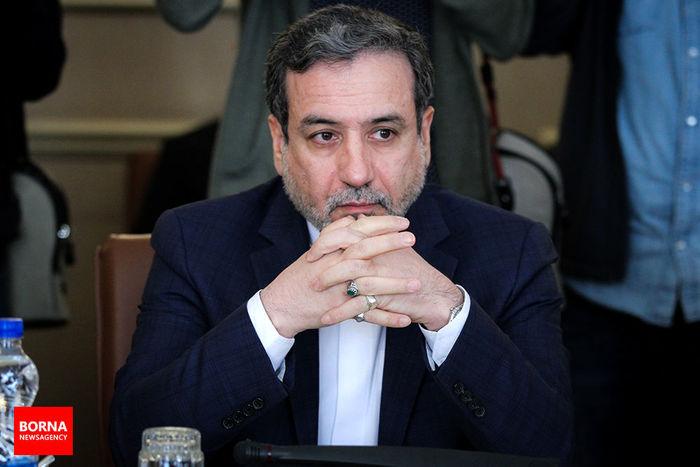 اعتراض شدید عراقچی به سفیر سوییس در تهران/ قطعاتی از لاشه پهباد در آبهای ایران وجود دارد