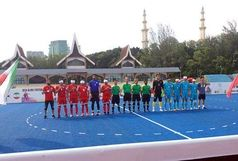 تیم فوتبال 5 نفره عنوان نایب قهرمانی آسیا را کسب کرد