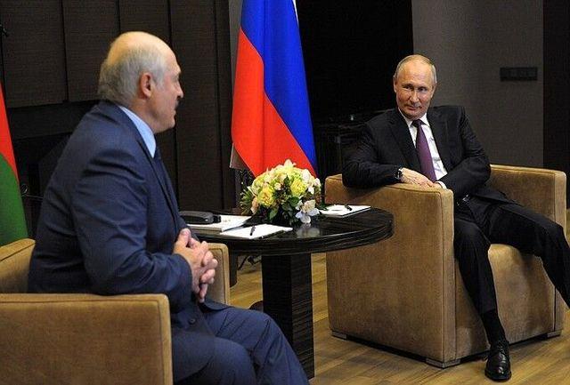 پوتین بر توسعه این همکاریها تاکید کرد!