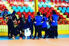 پیروزی دختران بسکتبال اروند بر چهارمحال بختیاری