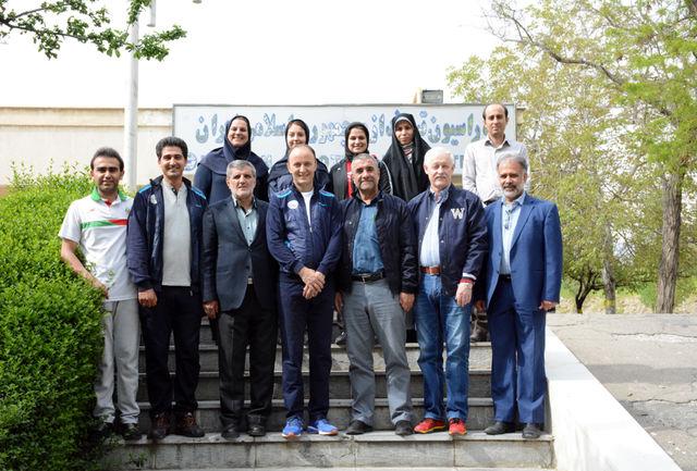 نخستین کاروان تیم ملی تیراندازی ایران، تهران را به مقصد پکن ترک کرد