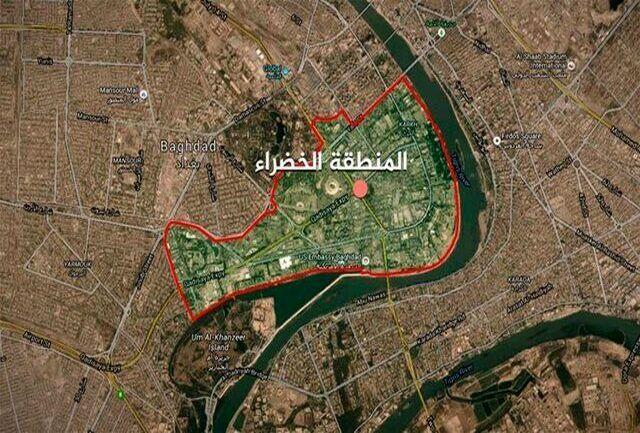 اصابت دو راکت به منطقه «سبز» بغداد