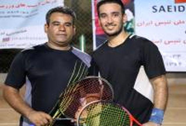 معرفی نفرات برتر تنیس خاکی هرمزگان