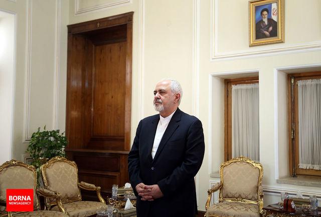دیدار خداحافظی سفیر تاجیکستان با ظریف