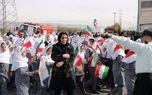 راهپیمایی یوم اله ١٣ آبان در قلعه نو شهرستان ری برگزار شد