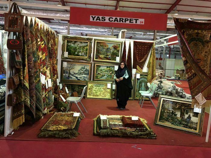 نمایش صنایعدستی خراسان شمالی در نمایشگاه سلیمانیه عراق