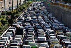 6 بزرگراه پایتخت زیر بار ترافیکی سنگین