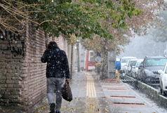 بارش برف و باران در 14 استان کشور