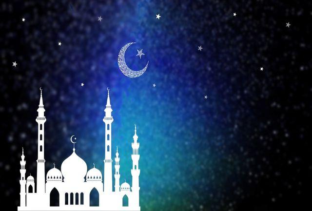 تصویری جذاب از یک مکان مذهبی در ماه رمضان قبل و امسال بعد از بیماری کرونا