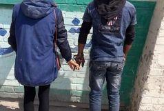 دستگیری زن و شوهر سارق در آبادان