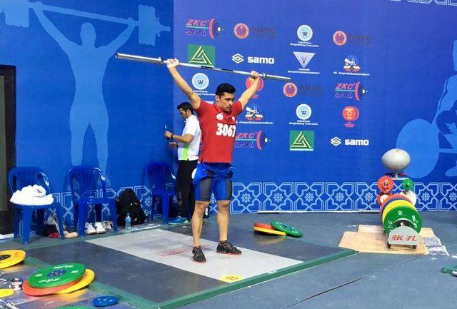 موسوی نایب قهرمان آسیا شد/ مدال نوبرانه در تاشکند