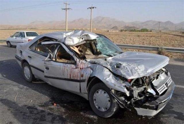 تصادف مرگبار در جاده ساحلی بوشهر / دو نفر جان باختند