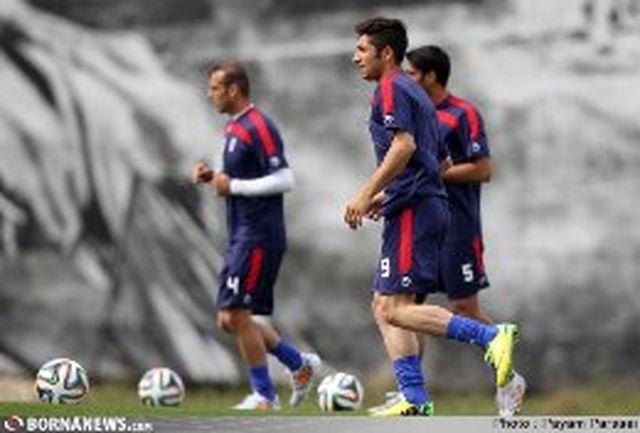پیگیری تمرینات تیم ملی در سائوپائولو